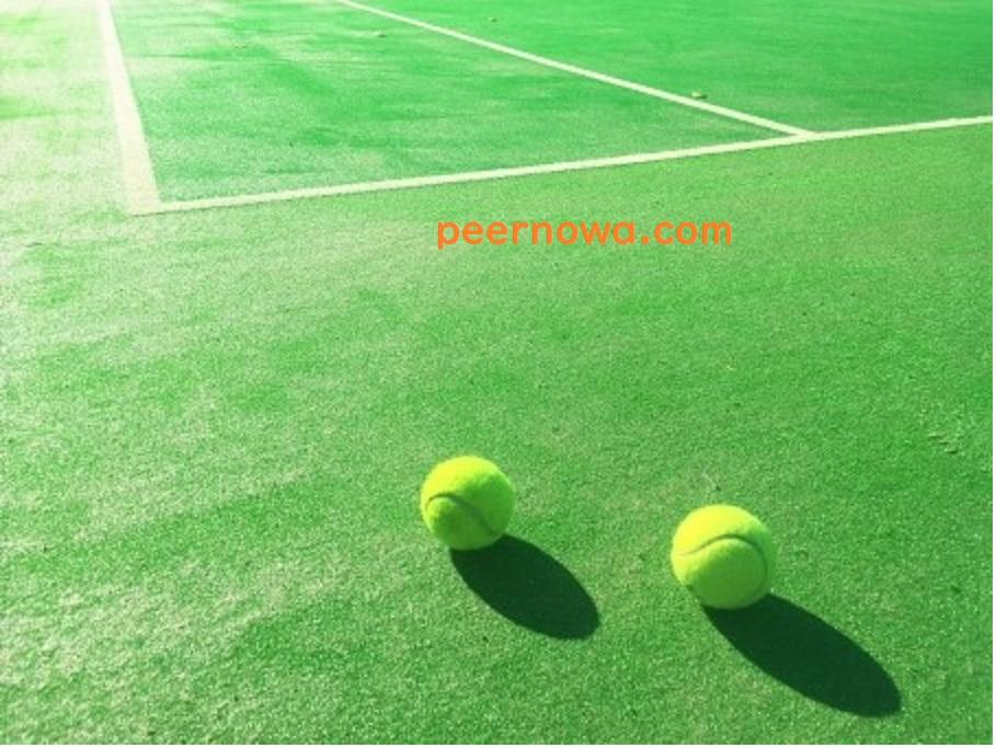 テニス始めました。